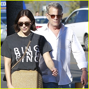 Katharine McPhee Stops by a Pumpkin Patch with Fiance David Foster!